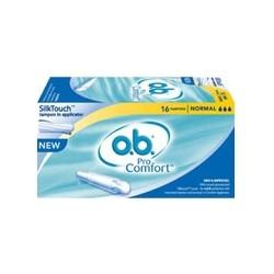 OB Tampons ProComfort Normal avec applicateur boite de 16