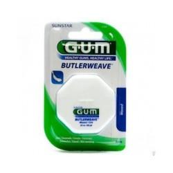 Gum ButlerWeave Fil Dentaire Plat Ciré 1155 55m