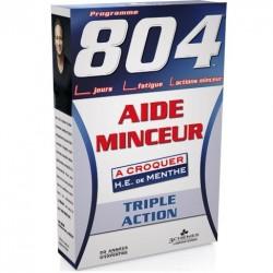 804 Aide Minceur triple action 30 comprimés à croquer
