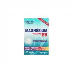 Urgo govital magnésium vitamine b6 effervescent 20 comprimés