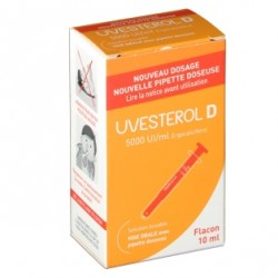 Uvesterol D 5 000 UI/ML Solution buvable 10ml