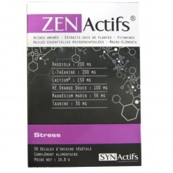 Aragan Zen actifs stress, 30 gélules