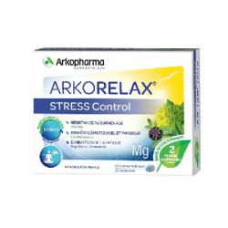 Arkorelax Stress Control 30 comprimés 2/j