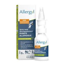 Allergyl Spray nasal décongestionnant rhinite allergique 20ml