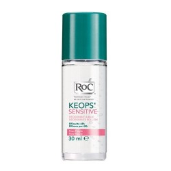 Roc Keops sensitive soin déodorant à bille 30ml