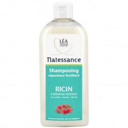 Natessance Shampooing huile de ricin et kératine végétale 500ml