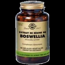 Solgar Boswellia extrait de résine 60 gélules