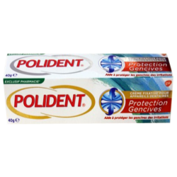 Polident Crème fixative Protection Gencives, 40g