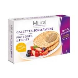 Milical Galettes Son d'Avoine Goût Vanillé Boîte de 4