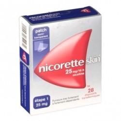 Nicoretteskin 25mg/16h 28 patchs