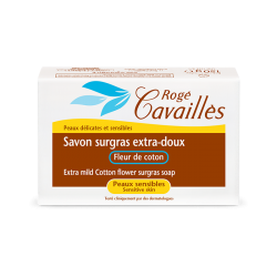 Rogé Cavaillès Savon surgras Extra doux Fleur de coton 150g