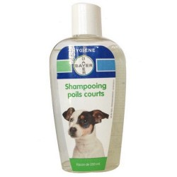 Bayer Shampoing poils courts 200ml