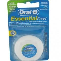 ORAL B Essentialfloss, fil dentaire ciré mentholé, 50 m