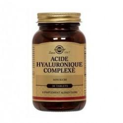 Solgar Acide hyaluronique 120mg 30 comprimés
