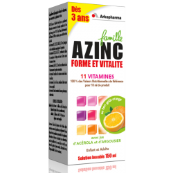 Azinc Optimal Sirop Famille 150ml
