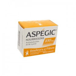 Aspegic nourrisson 100mg 20 sachets