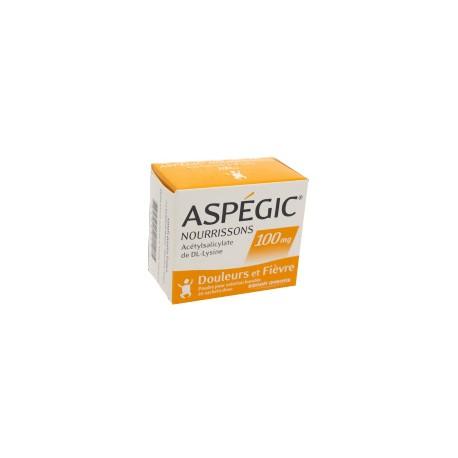 Aspegic nourrisson 100mg 20 sachets