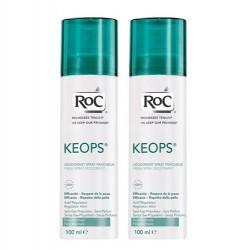 Roc Keops déodorant spray 2x100ml