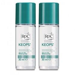 Roc Keops déodorant à bille 2x30ml