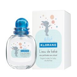 Klorane L'eau de Bébé parfumée sans alcool 50ml