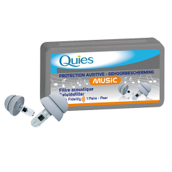 Quies Music Protection auditive 1 paire