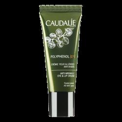 Caudalie Polyphénol C15 Crème yeux et lèvres anti-rides, 15ml