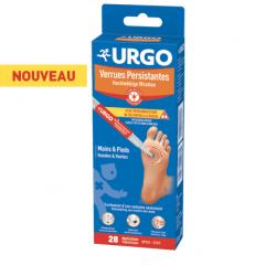 Urgo verrues persistantes 28 applications