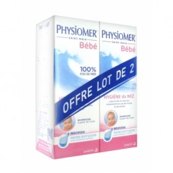 Physiomer solution nourrissante micro-diffusion 115ml x2