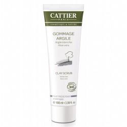 Cattier Gommage Argile blanche/Aloe 100ml