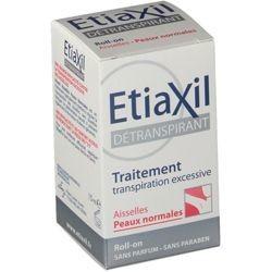 EtiaXil Détranspirant aisselles peaux sensibles Roll-on 15ml