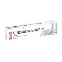 Auréomycine Monot pommade 3% Tube 15g