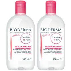 Bioderma Créaline TS H2O Solution micellaire, 2x500ml